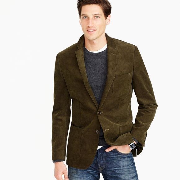 J. Crew Other - J Crew Men's Corduroy Button Cord Jacket Blazer